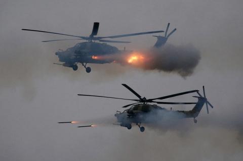 Минобороны: новыми образцами техники оснащены 75% частей армейской авиации