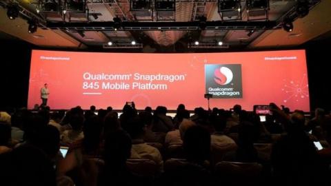 Процессор Qualcomm 845 представлен официально