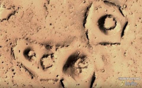 На Марсе были обнаружены раз…