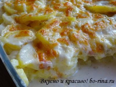 Вкусно и красиво! Картофельный гратен