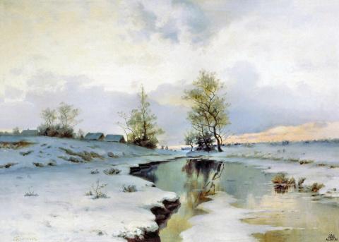 Русский пейзажист Иван Иванович Ендогуров