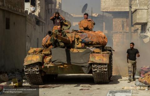 Сводка, Сирия: войска Асада …