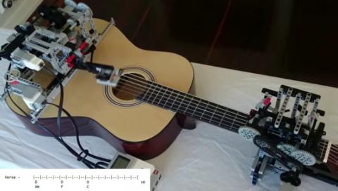 Робот-гитарист — это уже реа…