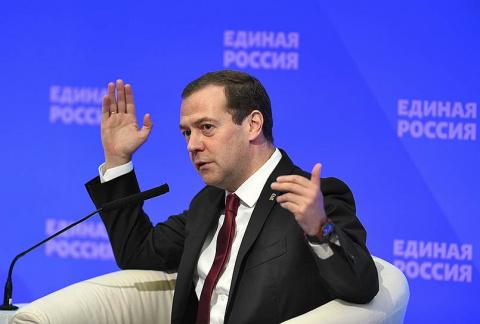 Дмитрий Медведев не вышел на прием