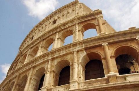 Верхние уровни римского Коли…