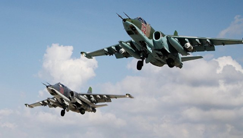 В Минобороны опровергли сообщения о перехвате Су-25 в Сирии