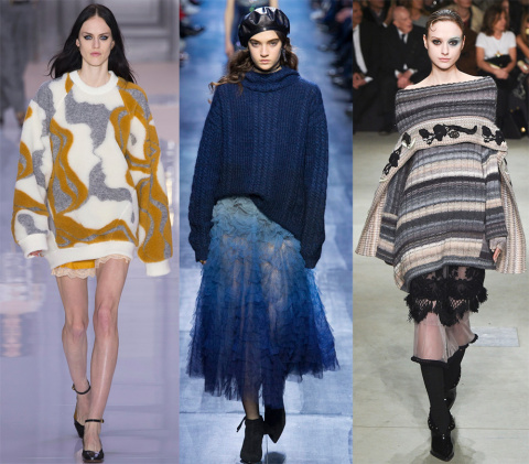 Обзор модных женских свитеров на осень 2017