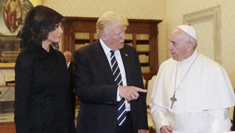 Папа Римский поинтересовался…