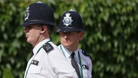Британская полиция обнаружил…