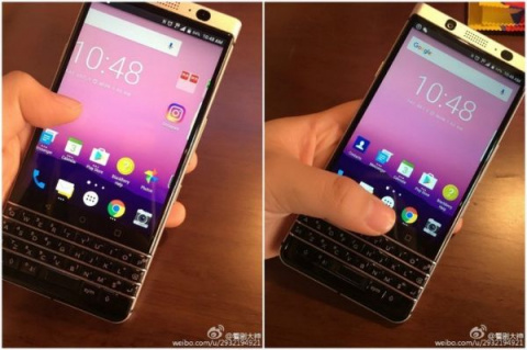 Смартфон BlackBerry Mercury показался на новых фотографиях