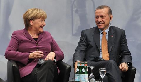 Меркель жестко унизила Эрдогана