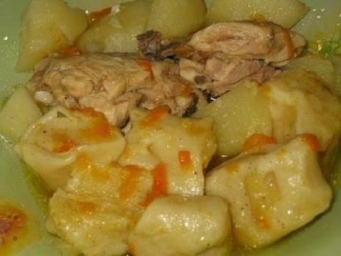 Штрули с курицей и картошкой. Так вкусно и сытно я давно не ела!