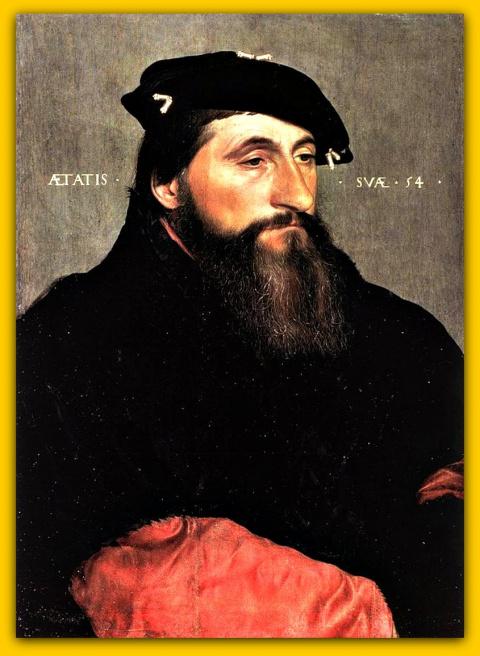 Портрет Антона Доброго, герцога Лотарингского.