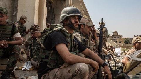 Армия Ирака отбила у ИГ дере…