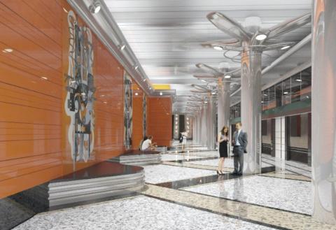 Станции метро «Новокрестовск…