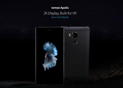 Открыт предзаказ на Vernee Apollo – первый VR-флагман с чипом MediaTek