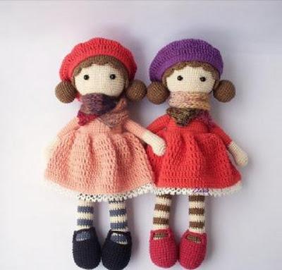 Вяжем милую уютную куколку амигуруми