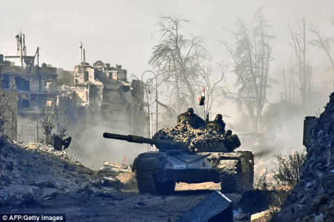 Армия Сирии взялась за последний оплот ИГИЛ под Алеппо