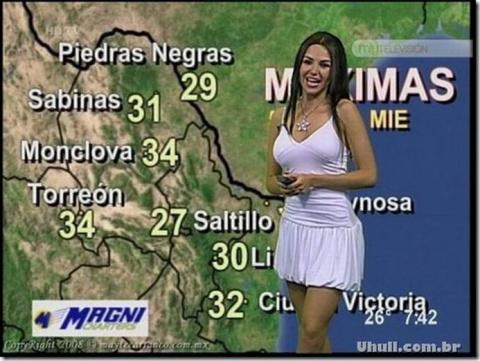 Ведущие прогнозов погоды рад…