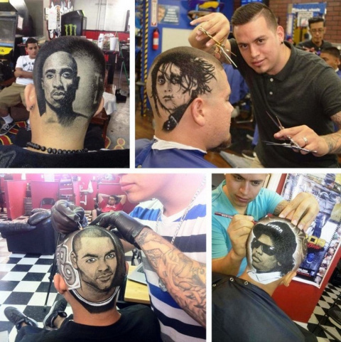 Hair tatto — новый тренд в с…