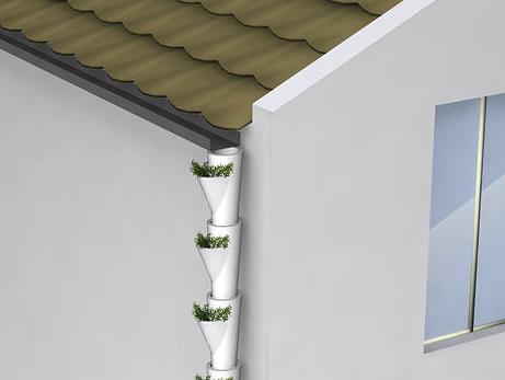 Декор водосточной трубы