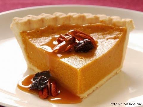 Десертный вихрь. Нежнейший тыквенный пирог