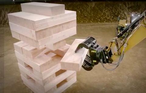 Кубики для экскаватора