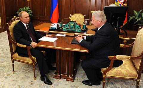 Путин: выплаты зарплат - мой…