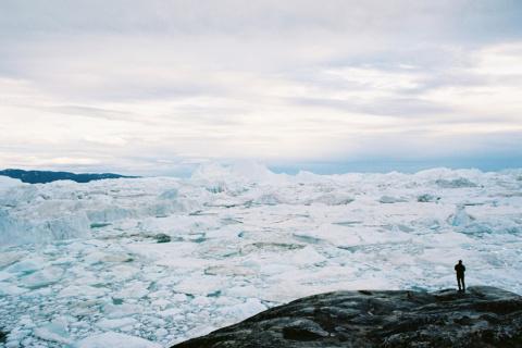 Красоты Гренландии в лучах п…