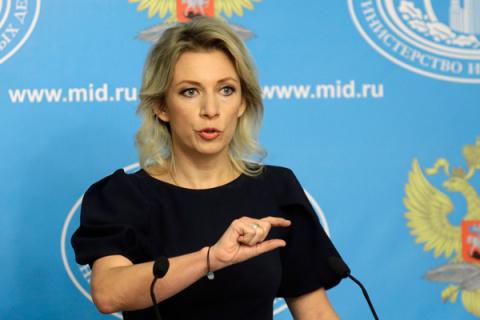 Захарова перевела Украине слова Байдена об отмене санкций