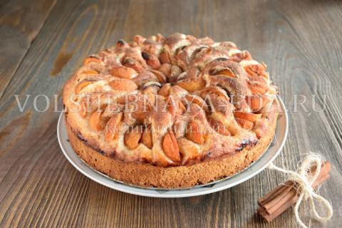 Немецкий абрикосовый пирог