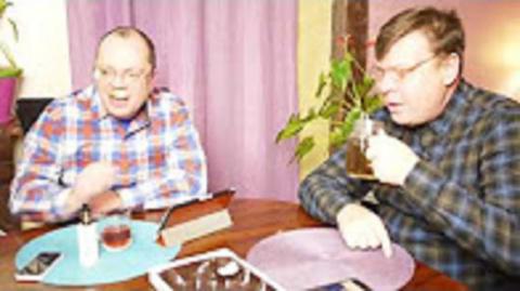 Лаврова обсуждают Лаврентий Августович и его помощник Шурка