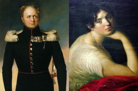Скромница или femme fatale? Мария Нарышкина: самая блестящая фаворитка Александра І