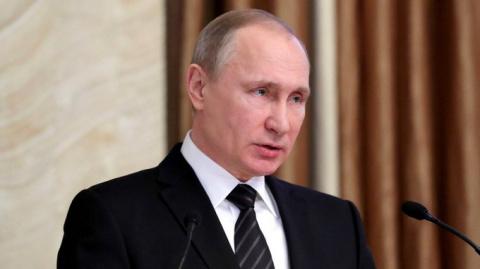 Путин на коллегии ФСБ: наседают со всех сторон.