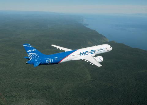 Крыло МС-21 испытали максима…