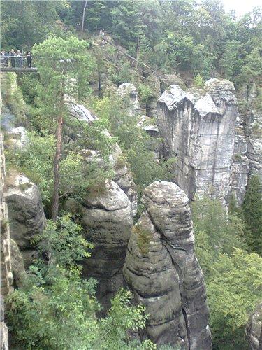 БАСТАЙ- ЧУДО ПРИРОДЫ (Саксонская Швейцария)