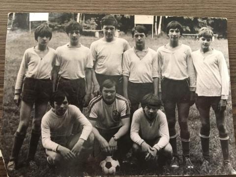 1977-1978 Дубль Динамо с тренером Беляшовым