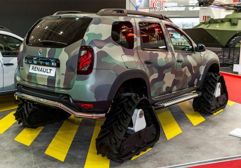 Бронированный Renault Duster…