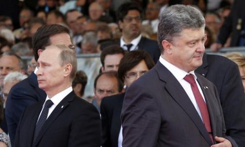Путин вышвырнул Порошенко с …