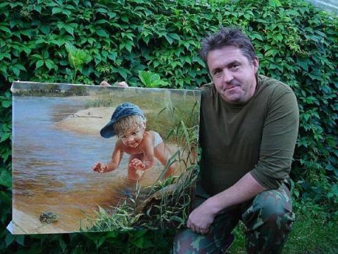 Добрые картины Вячеслава Леоновича