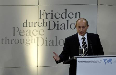 10 лет «Мюнхенской речи» Пут…
