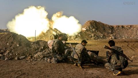 Хомс: САА теснит ИГ около хо…