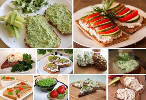 ЛЮБИМЫЙ ЗАВТРАК. 12 лучших рецептов пасты для бутербродов