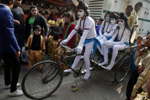 Декабрьская Индия 2016 года …
