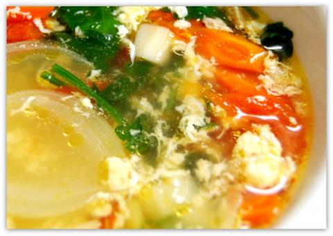 Суп разгрузочный, почти диетический