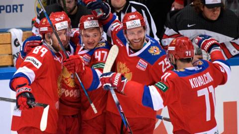 Сборная России по хоккею обыграла Канаду в матче Кубка Первого канала