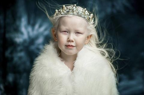8-летней «Снежной королеве» …