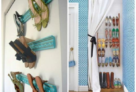 11 идей для компактного хранения обуви. Лучшие трюки для экономии пространства!