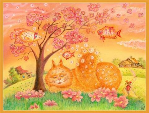 Надя и её коты