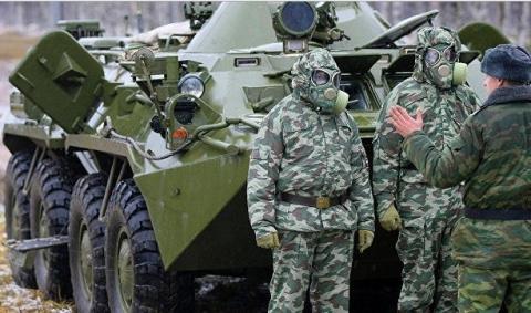 В подразделения РХБ защиты ЗВО поступила крупная партия новой специальной техники